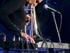 28 Gianluca Petrella, Eivind Aarse, Michele Rabbia - Pomigliano Jazz festival 2017 ph © Titti Fabozzi