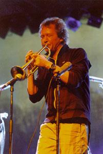 Il trombettista norvegese Nils Petter Molvaer in concerto