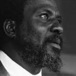Ritratto del pianista Thelonious Monk