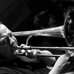 Mauro Ottolini al trombone (ph Andrea Discacciati)
