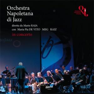 "Cover cd ""Orchestra Napoletana di Jazz in concerto"""