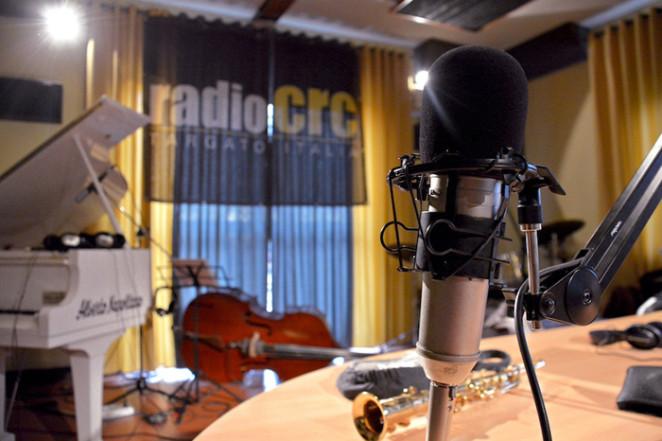 La trasmissione Jazz in Campania su Radio Crc (ph Titti Fabozzi)