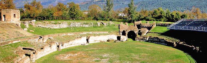 L'anfiteatro dell'antica Abella