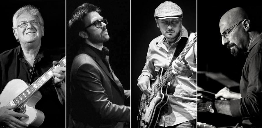 Jim MULLEN, Jiulian Oliver MAZZARIELLO, Dario DEIDDA, Enzo ZIRILLI al Pomigliano Jazz 2014 con Lifestories