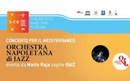 ONJ e Raiz in concerto gratuito il 26 ottobre a Napoli