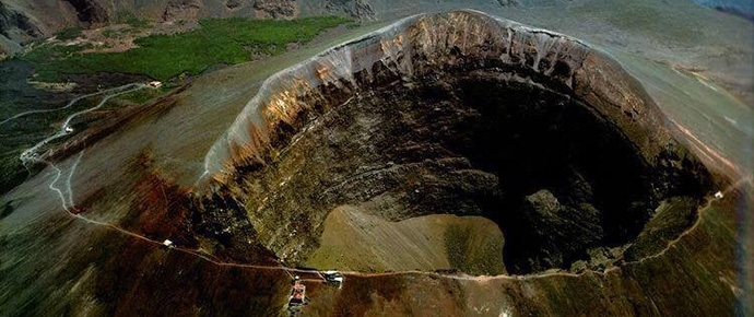 Cratere del Vesuvio