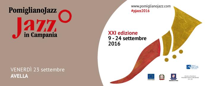 Programma Pomigliano Jazz 23 settembre 2016