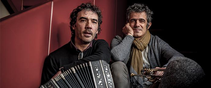 Paolo Fresu Daniele di Bonavenutra Vesuvio Pomigliano Jazz (foto di Roberto Cifarelli)