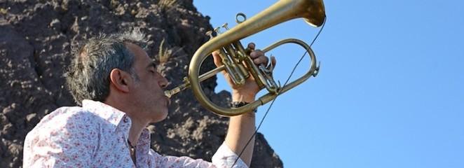 Le foto del concerto di Fresu e di Bonaventura sul cratere del Vesuvio