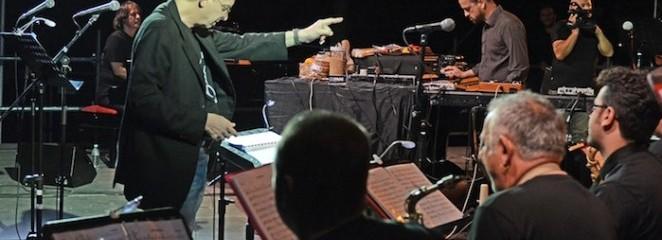 Le foto del concerto di Matthew Herbert e l'ONJ