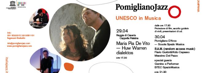 JAZZ DAY 2018 | REGGIA DI CASERTA – 29 APRILE; POMIGLIANO D'ARCO – 30 APRILE