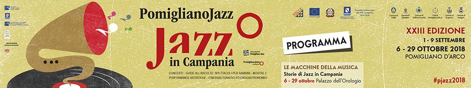 programma pomigliano jazz in campania 2018