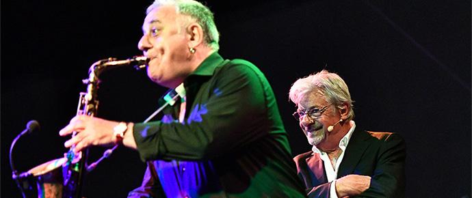 Giannini e Zurzolo al Pomigliano jazz