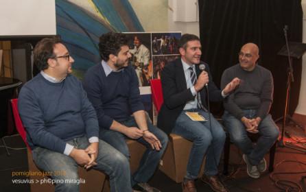 Le foto della presentazione del libro/dvd VesuviusJazz a Pomigliano d'Arco