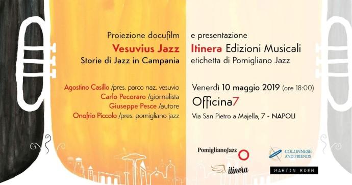 presentazione Itinera edizioni e vesuvius jazz