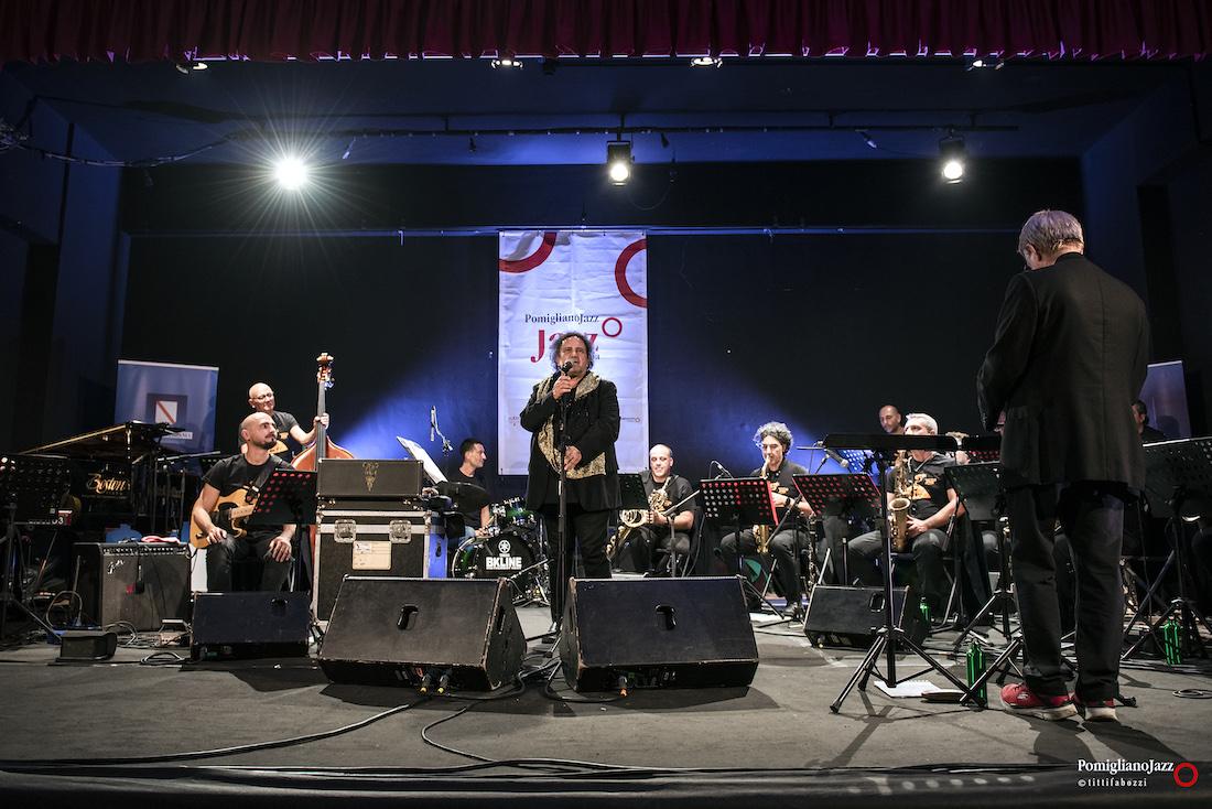 Enzo Avitabile & ONJ diretta da Mario Raja Pomigliano Jazz Festival XXV Edizione Teatro Domenico Biancardi Avella
