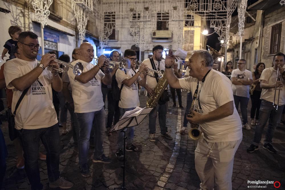 Marco Zurzolo Banda MVM Ex Voto Pomigliano Jazz in Campania 2019 Quindici