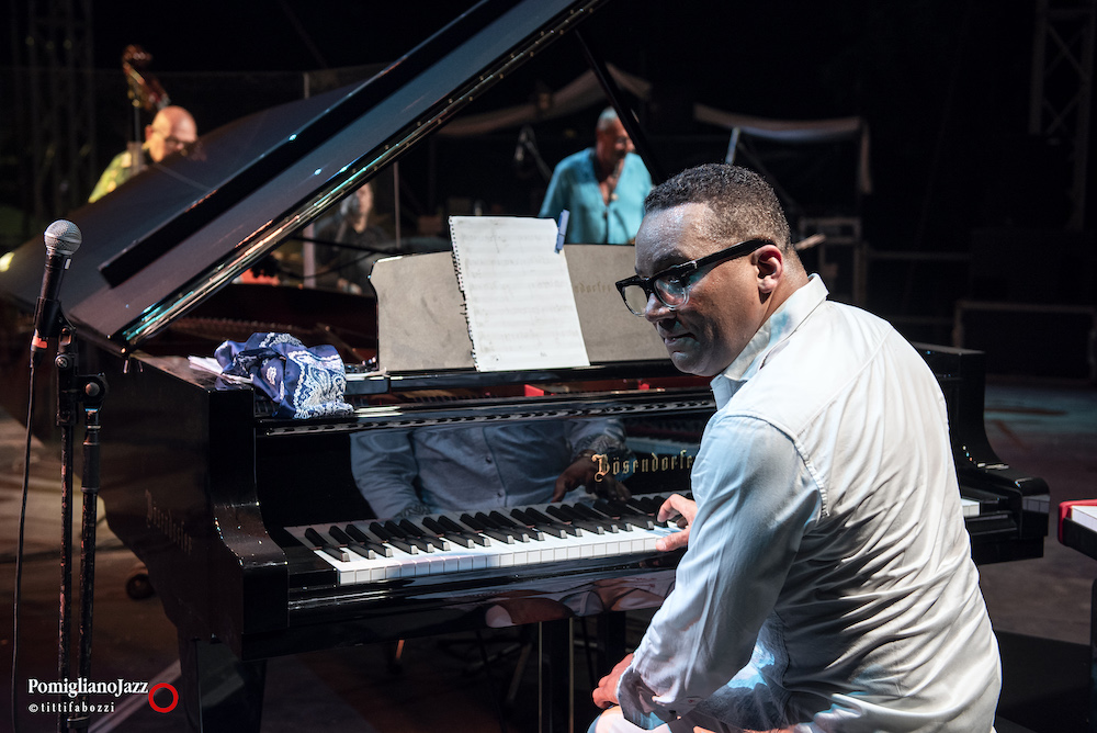 Gonzalo Rubalcaba  Mascalzone Latino Pomigliano Jazz in Campania 21 Parco Pubblico